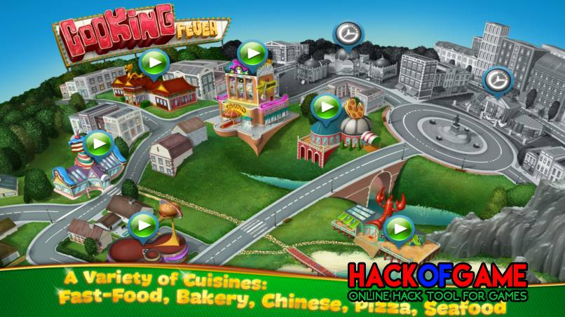 Cooking Fever Hack