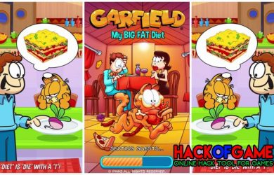 Garfield My Big Fat Diet Hack