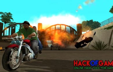 Grand Theft Auto San Andreas Hack