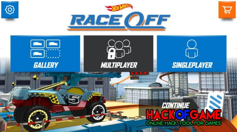 Hot Wheels Race Off Hack