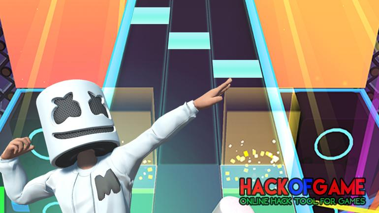 Marshmello Music Dance Hack