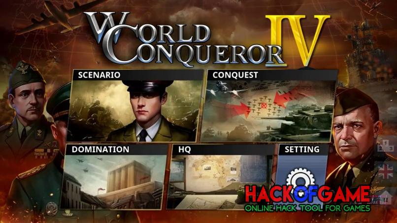 World Conquer 4 Hack